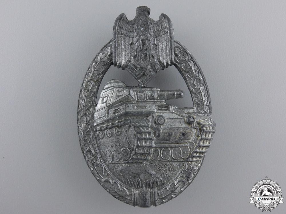 eMedals-A Silver Grade Tank Assault Badge by Steinhauer & Luck