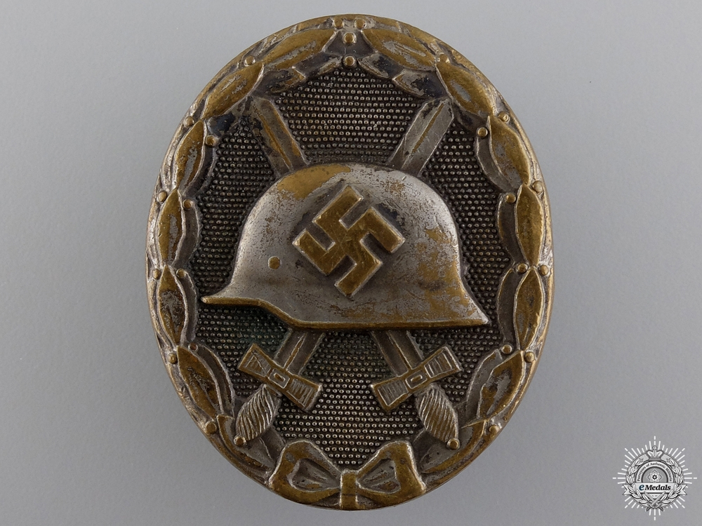 eMedals-A Silver Grade Wound Badge by Steinhauer & Luck