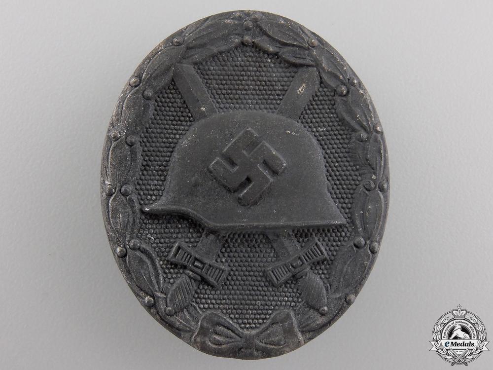 eMedals-A Silver Grade Wound Badge by Klein & Quenzer