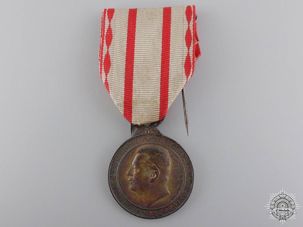 eMedals-A Silver Medal of Labour; Monaco 1922-49