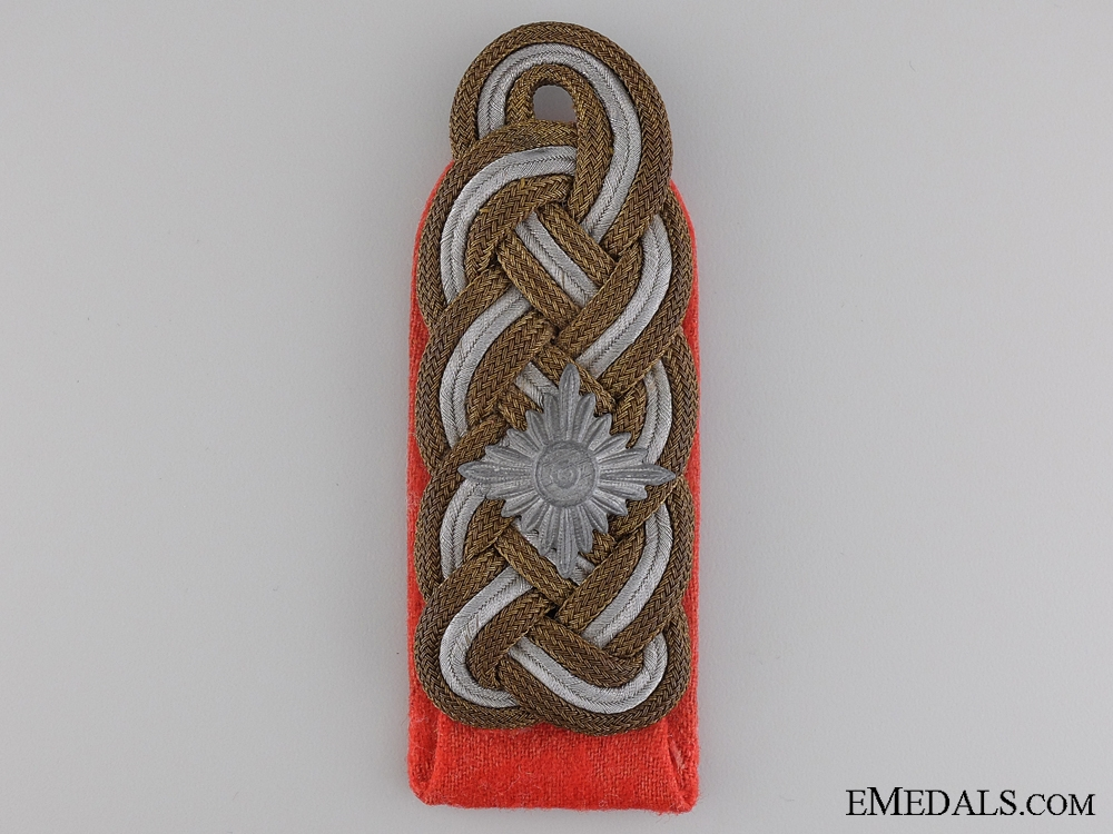 eMedals-A Single Army/Heer Generalleutnant Shoulder Board