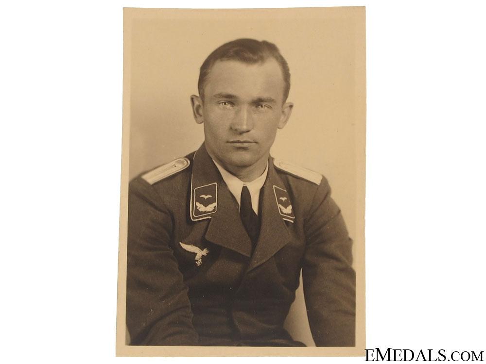 eMedals-A Small Portrait Photo of Eduard 'Edu' Neumann