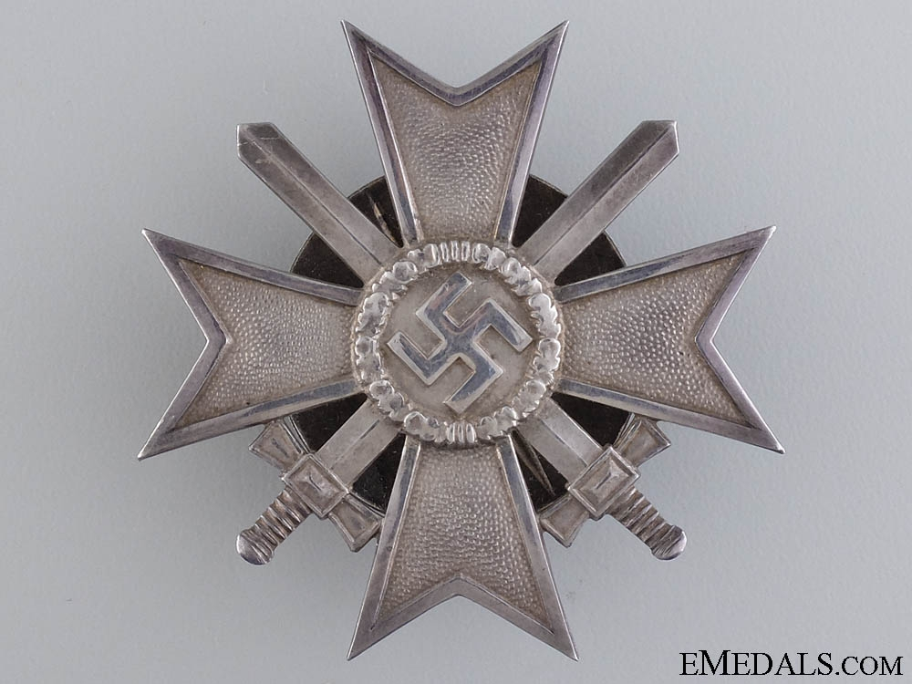 eMedals-A Solid Silver War Merit Cross 1st Class by Zimmermann