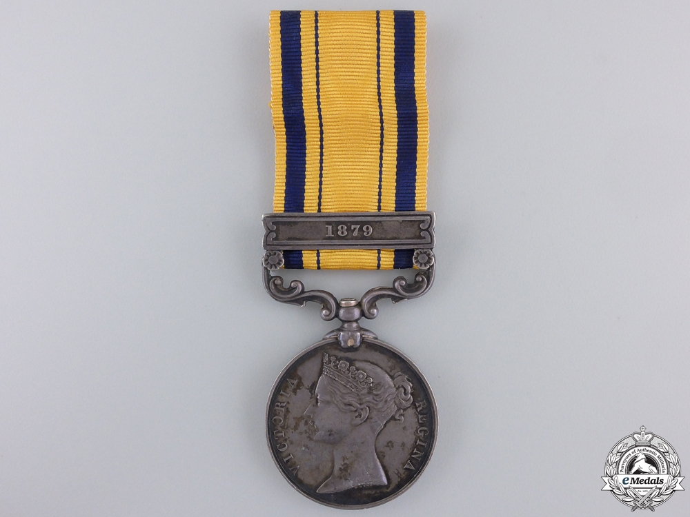 eMedals-A South Africa Medal 1879 to the Army Service Corps