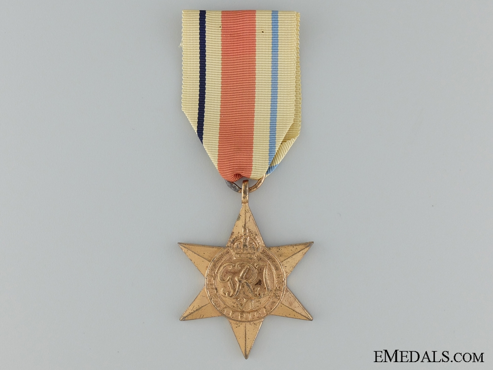 eMedals-A South African Second War Africa Star