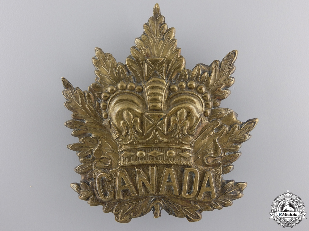 eMedals-A South African War Canadian Cap Badge