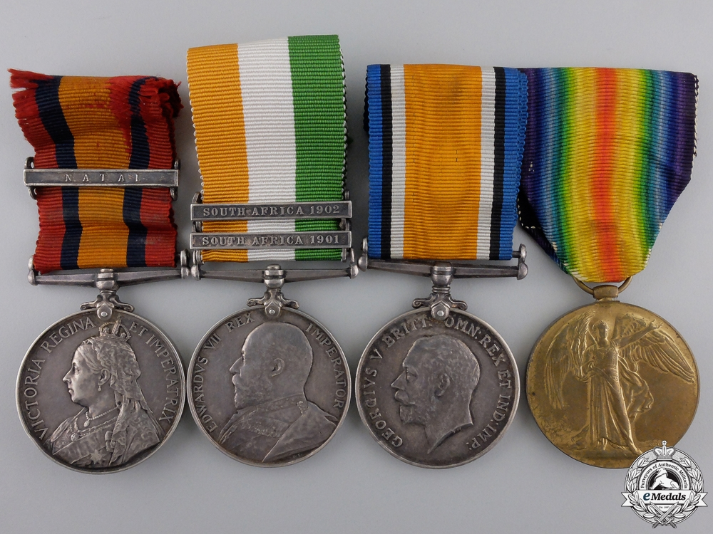 eMedals-A South African War Group to the LD Strathcona's Horse