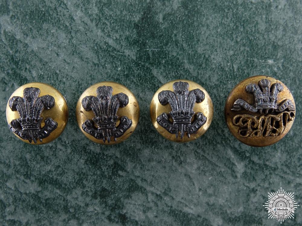 eMedals-A South Lancashire Regiment Officer's Button Set