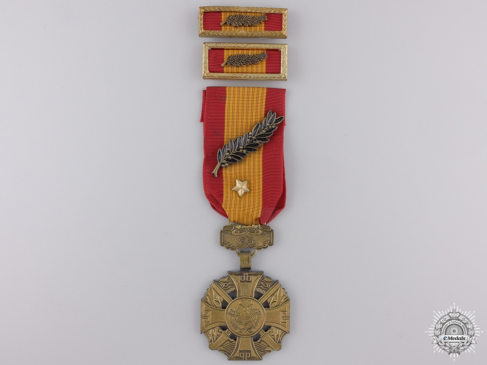 eMedals-A South Vietnamese Gallantry Cross; Posthumously Issued
