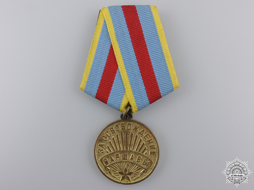 eMedals-A Soviet Medal for the Liberation of Warsaw