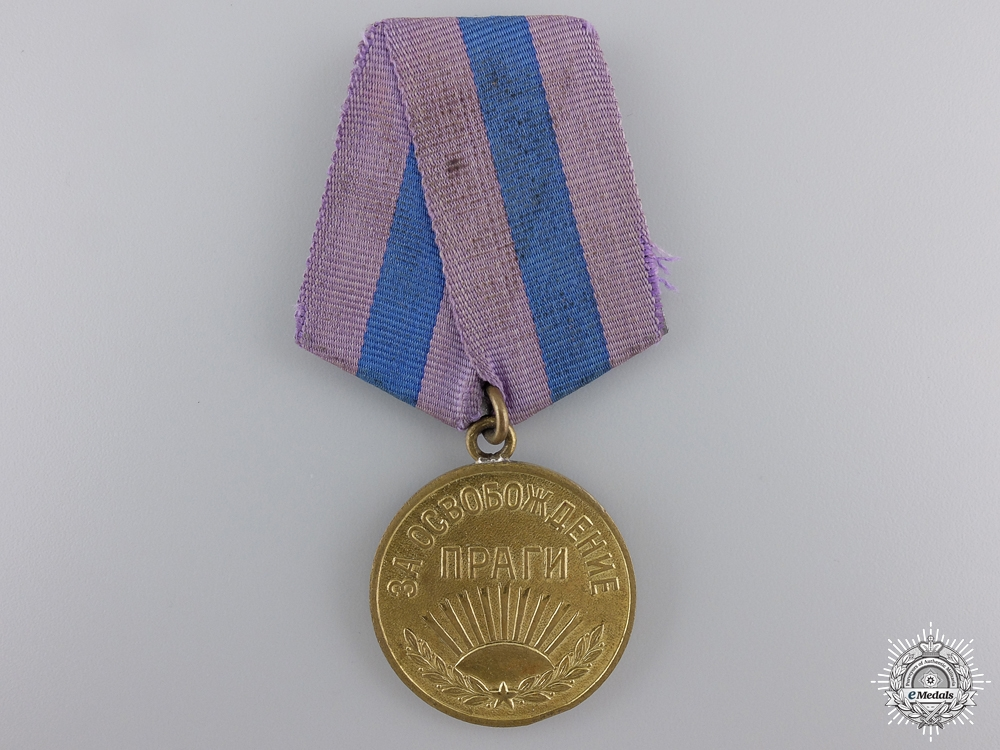 eMedals-A Soviet Medal for the Liberation of Prague