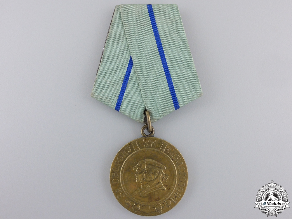 eMedals-A Soviet Medal for the Defence of Sevastopol