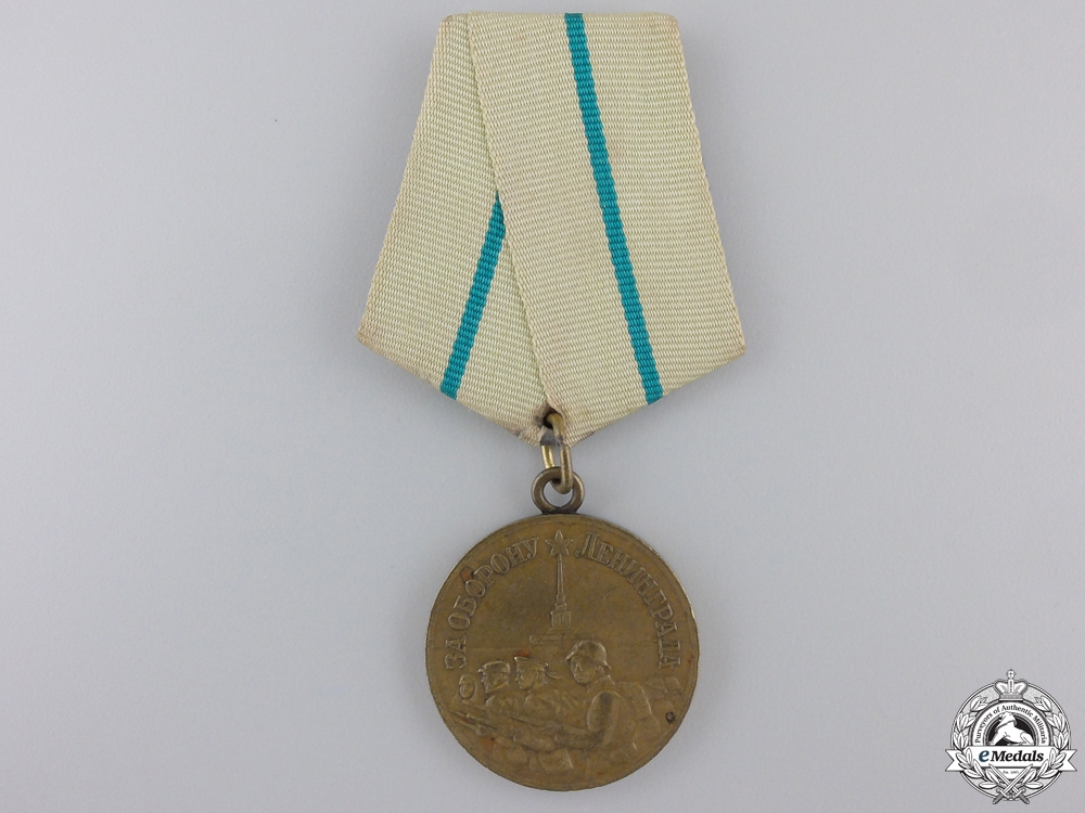 eMedals-A Soviet Medal for the Defence of Leningrad