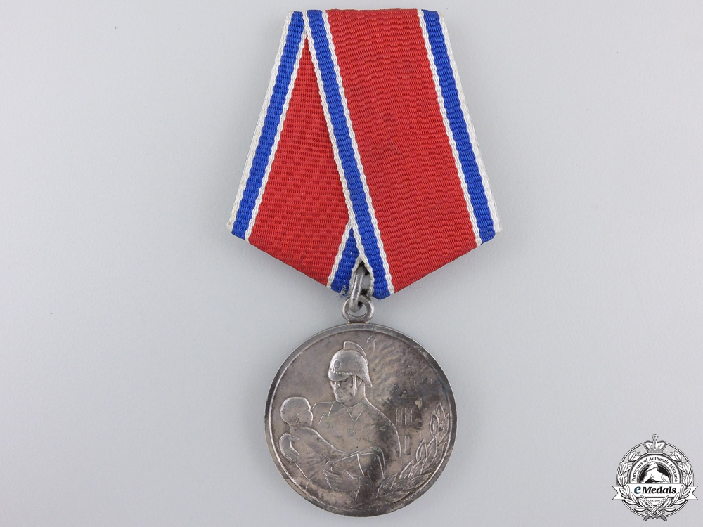 eMedals-A Soviet Medal for Bravery in a Fire