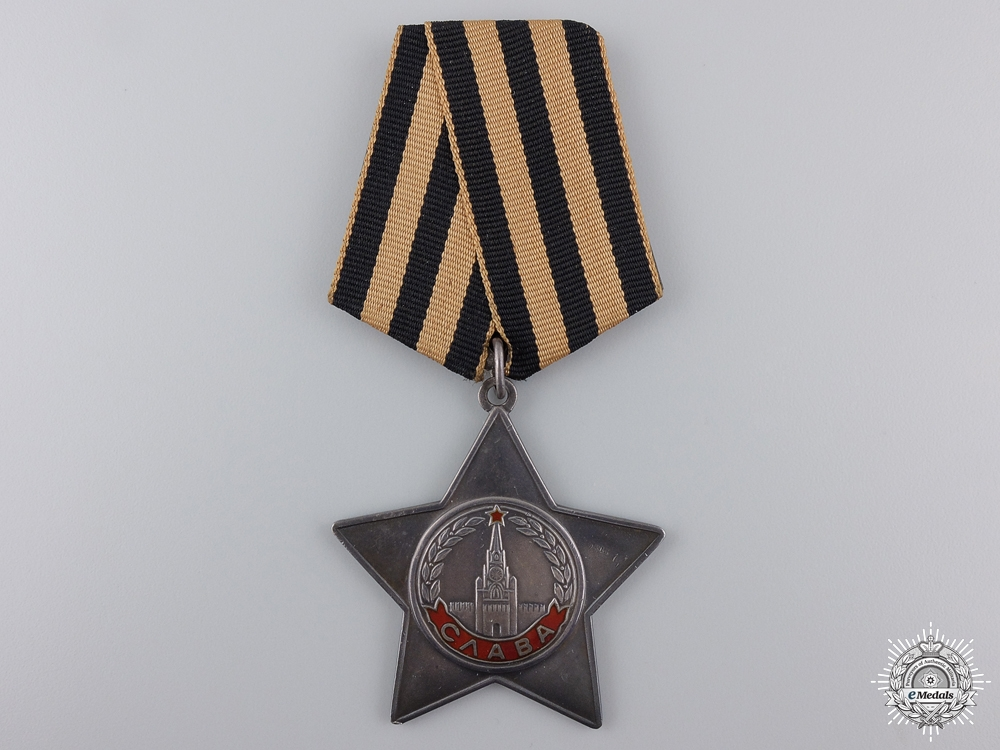 eMedals-A Soviet Russian Order of Glory