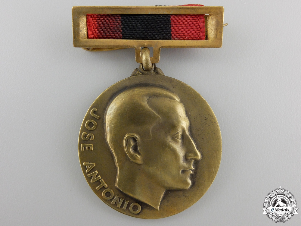 eMedals-A Spanish Falange Twenty-Fifth Anniversary of the Women's Division Medal 1934-1959
