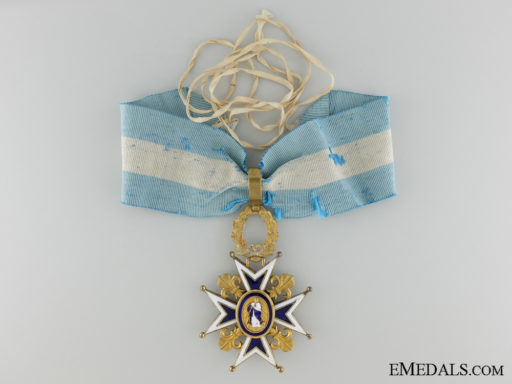 eMedals-A Spanish Order of Charles III; Commanders Cross