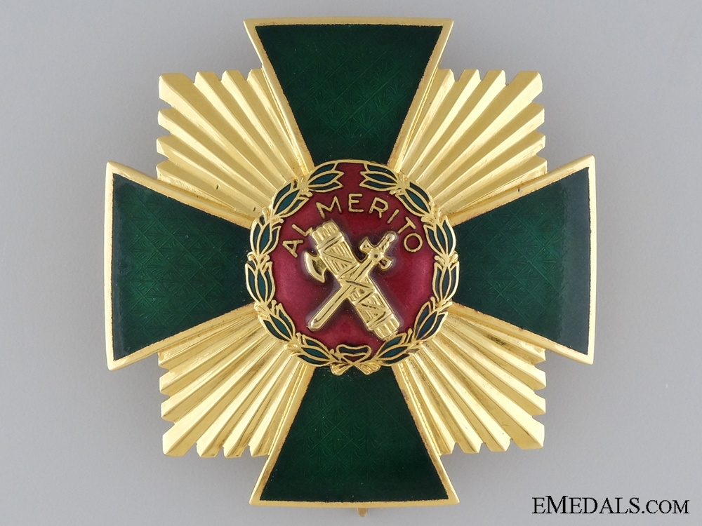 eMedals-A Spanish Order of Merit of the Civil Guard