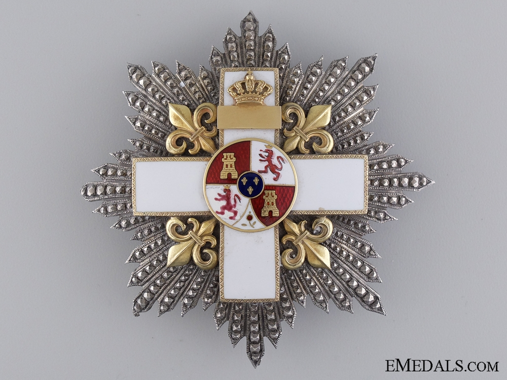 eMedals-A Spanish Order of Military Merit by Lemaitre of Paris