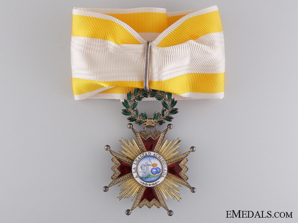 eMedals-A Spanish Order of Isabella the Catholic; Commander