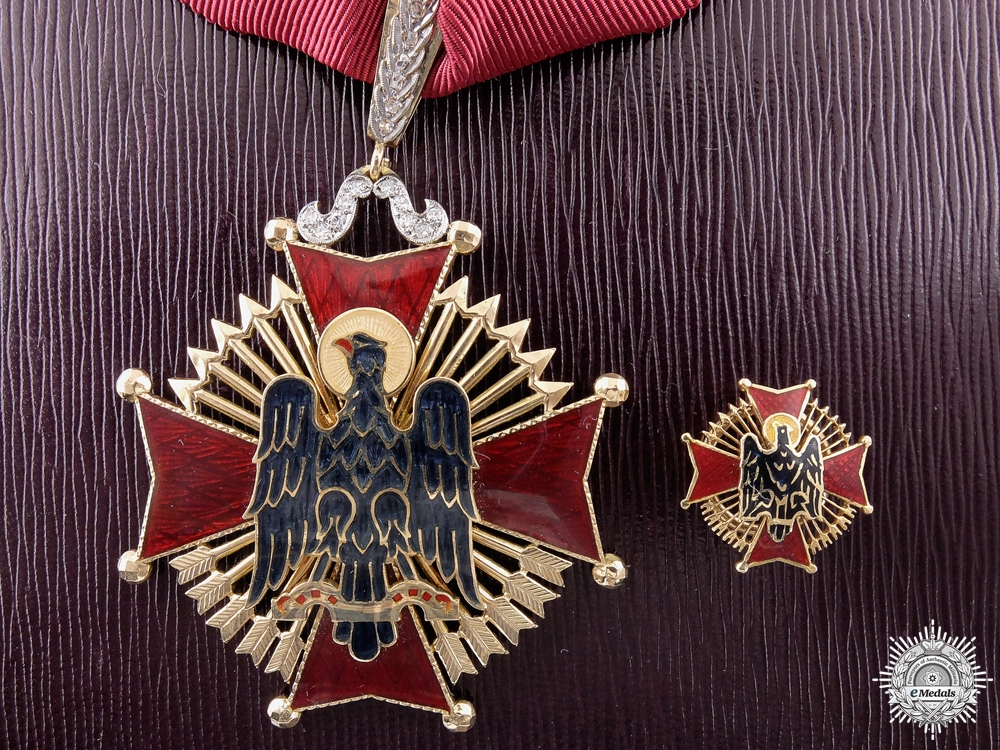 eMedals-A Spanish Order of Cisneros; Commander in Gold to D. Joaquin Munoz Larrabide