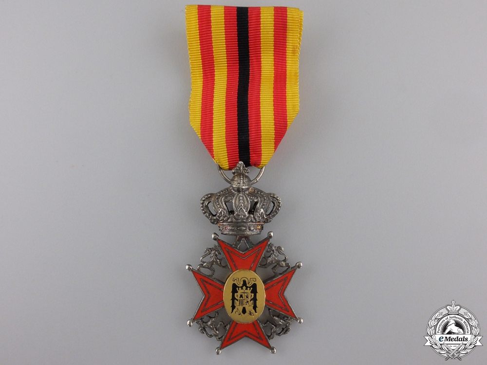eMedals-A Spanish Order of the Asociación Belgo-Hispánica; Officer