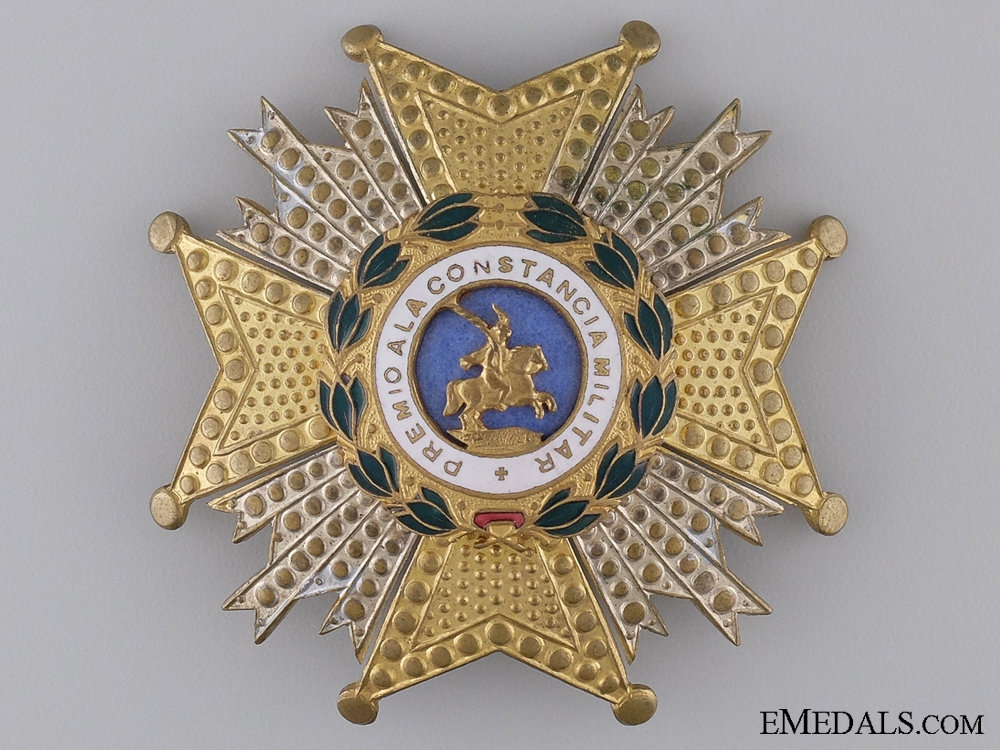 eMedals-A Spanish Royal Order of St.Hermengildo; Breast Star Second Class