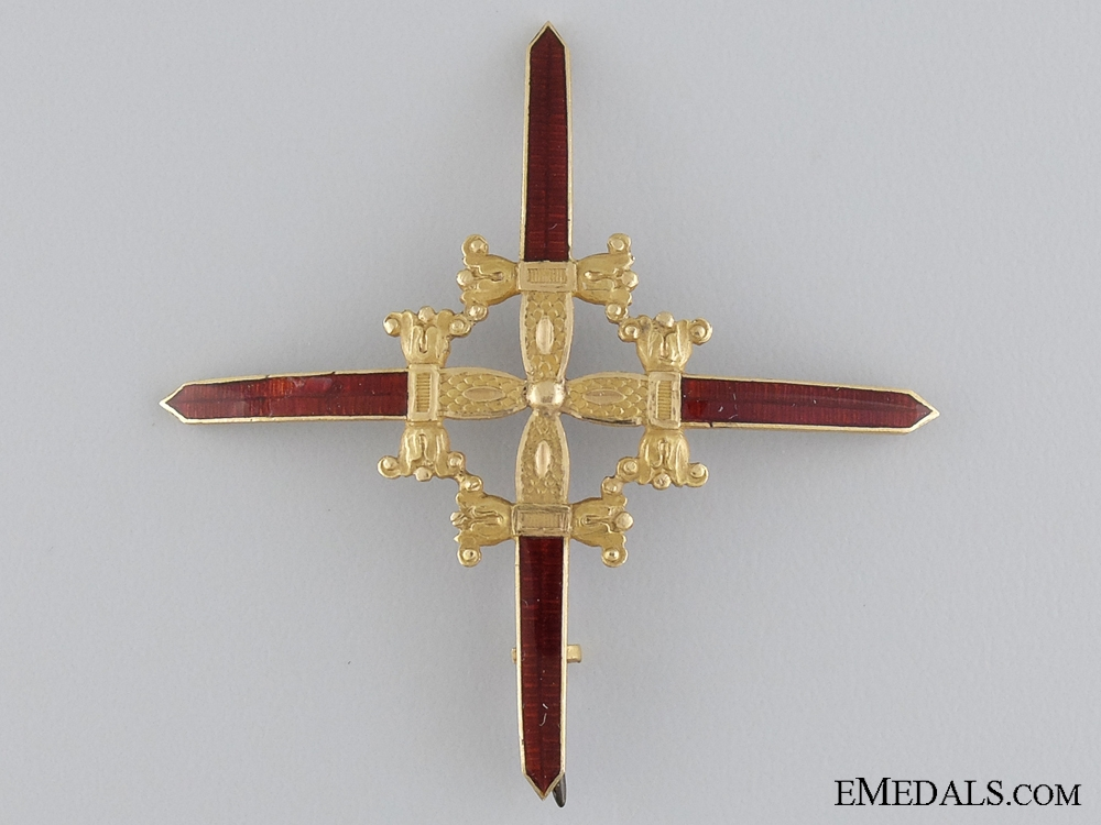 eMedals-A Spanish Royal Military Order of Saint Ferdinand, Breast Star; c.1830