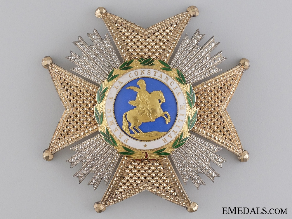 eMedals-A Spanish St. Hermengildo Order; Grand Cross Star