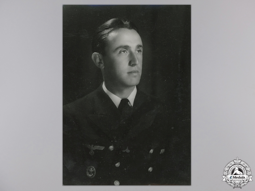 eMedals-A Studio Photograph of Croatian Naval Officer