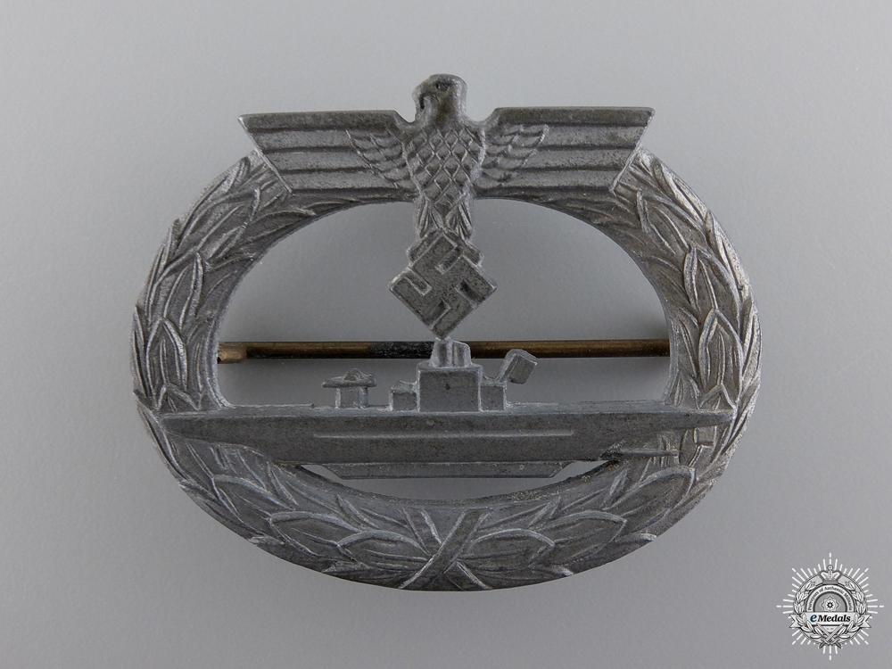 eMedals-A Submarine War Badge by Friedrich Orth