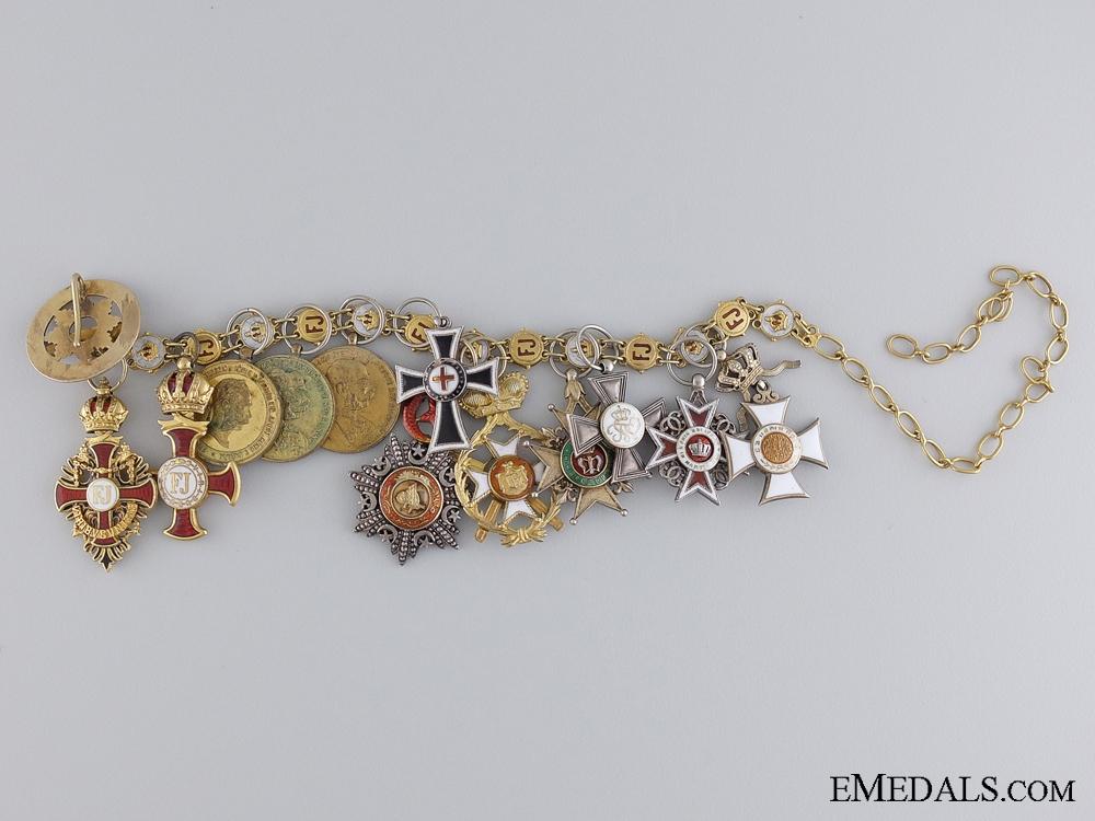 eMedals-A Superb Austrian Miniature Chain