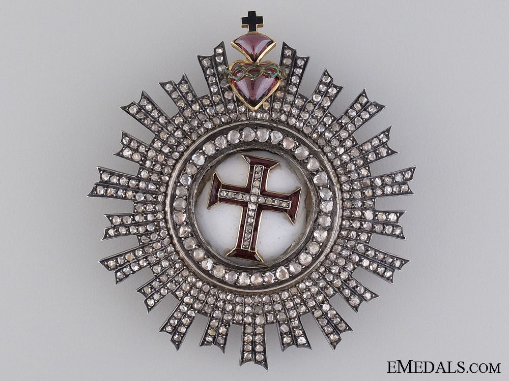 eMedals-A Superb Portuguese Order of Christ with Diamonds