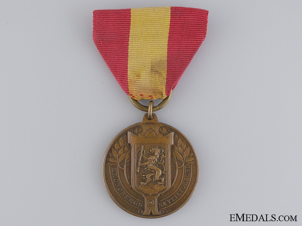 eMedals-A Swedish County Shooting Association Merit Medal