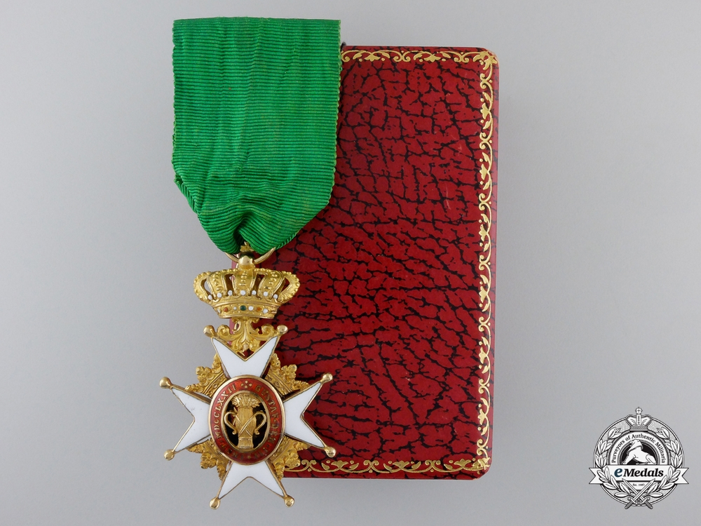 eMedals-A Swedish Order of Vasa in Gold by C.F.Carlman
