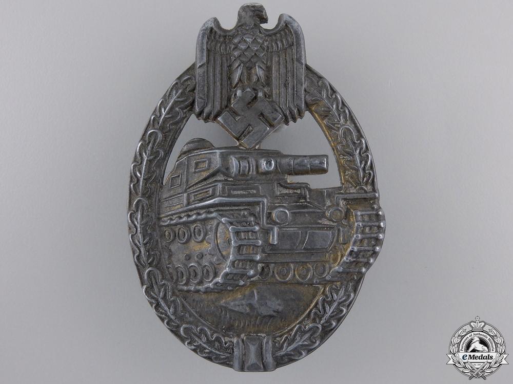 eMedals-A Tank Assault Badge; Bronze Grade