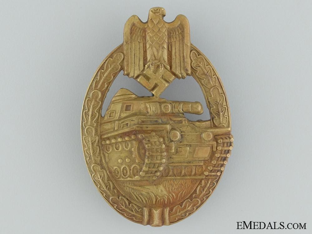 eMedals-A Tank Badge; Bronze Grade