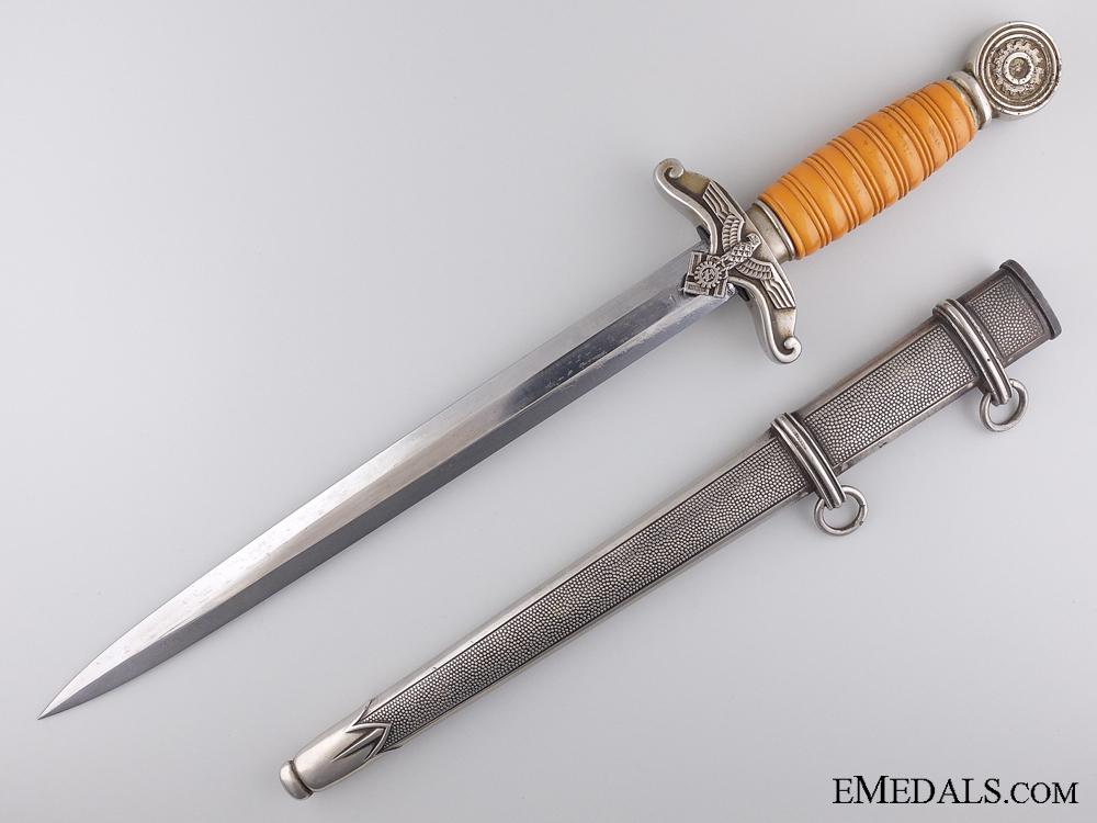 eMedals-A TENO (Technische Nothilfe) Leader's Dagger by Eickhorn, Solingen