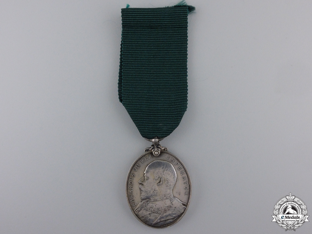 eMedals-A Territorial Force Efficiency Medal to the Field Artillery