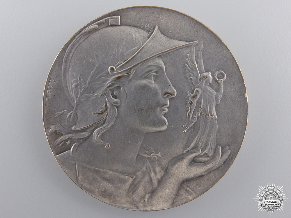 "eMedals-A Toulouse ""The Dispatch"" Award Medal; Silver Grade"