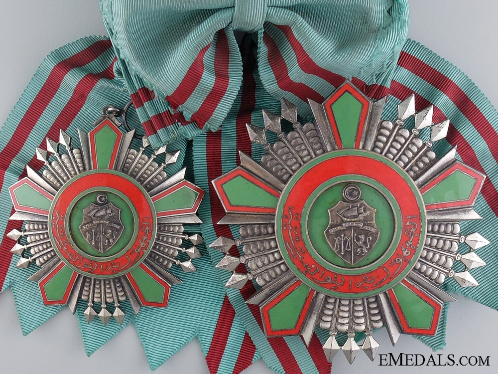eMedals-A Tunisia Order of the Republic; Grand Cross Set, Type II