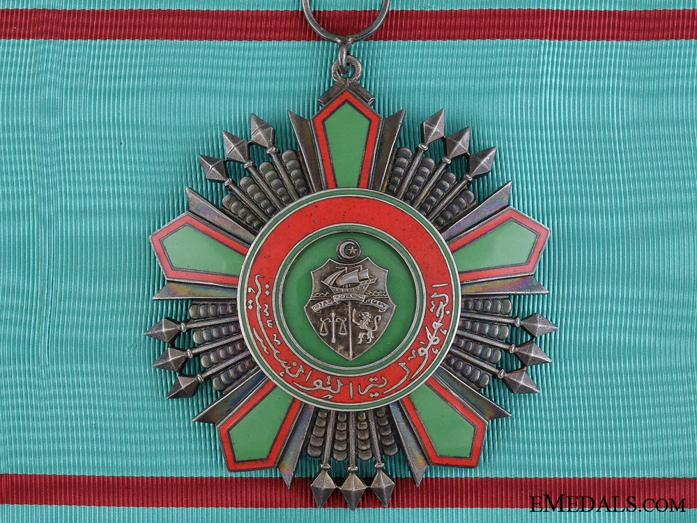 eMedals-A Tunisian Order of National Merit; Grand Cross Type II