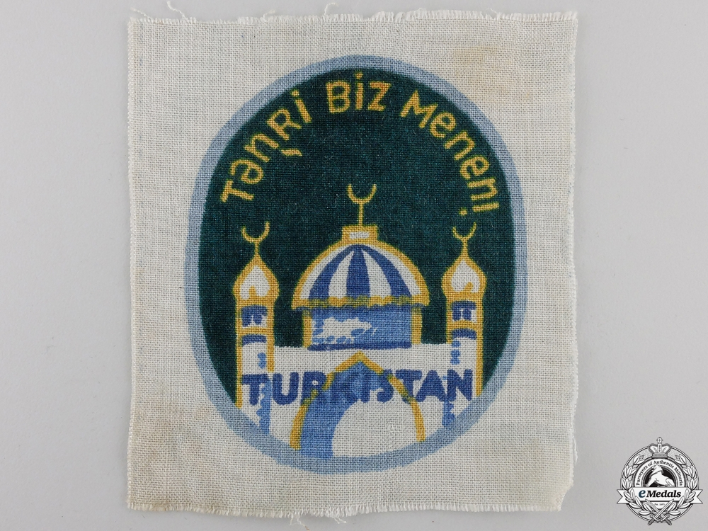 eMedals-A Turkestan Legion (162nd Division) Arm Shield