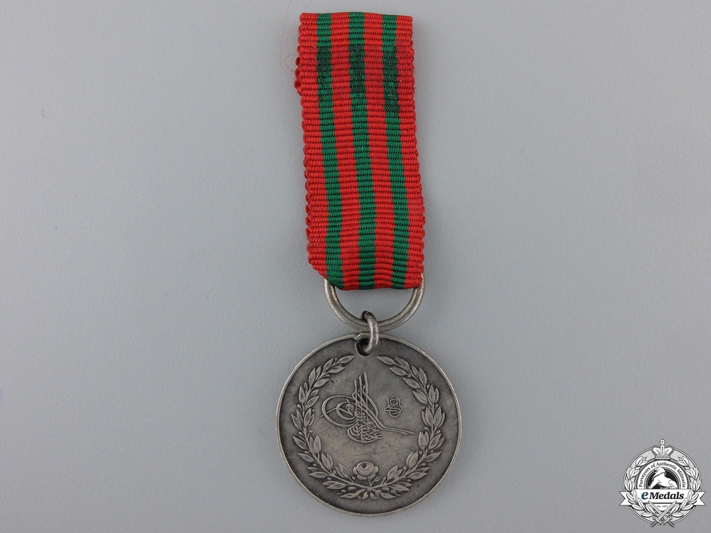 eMedals-A Turkish 1897 Greek Campaign Medal
