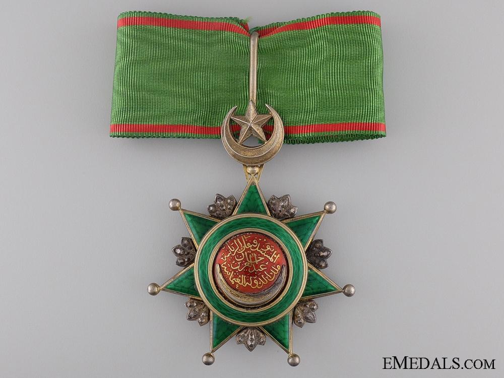 eMedals-A Turkish Order of Osmania (Osmanli); Commander's Neck Badge