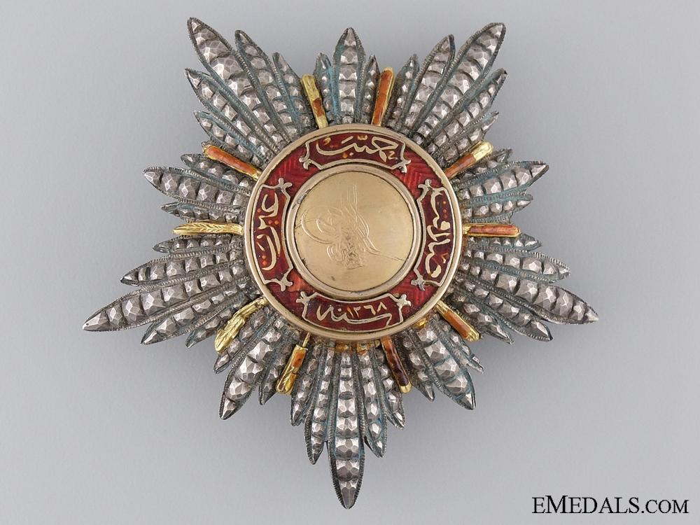 eMedals-A Turkish Order of Mejidie; Breast Star