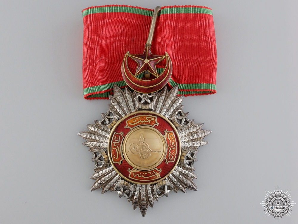 eMedals-A Turkish Order of Medjidie (Mecidiye); Commander's Cross