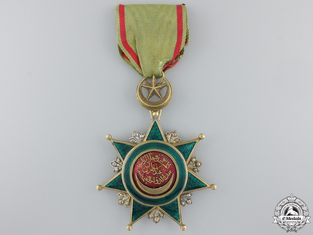 eMedals-A Turkish Order of Order of Osmania; Breast Badge