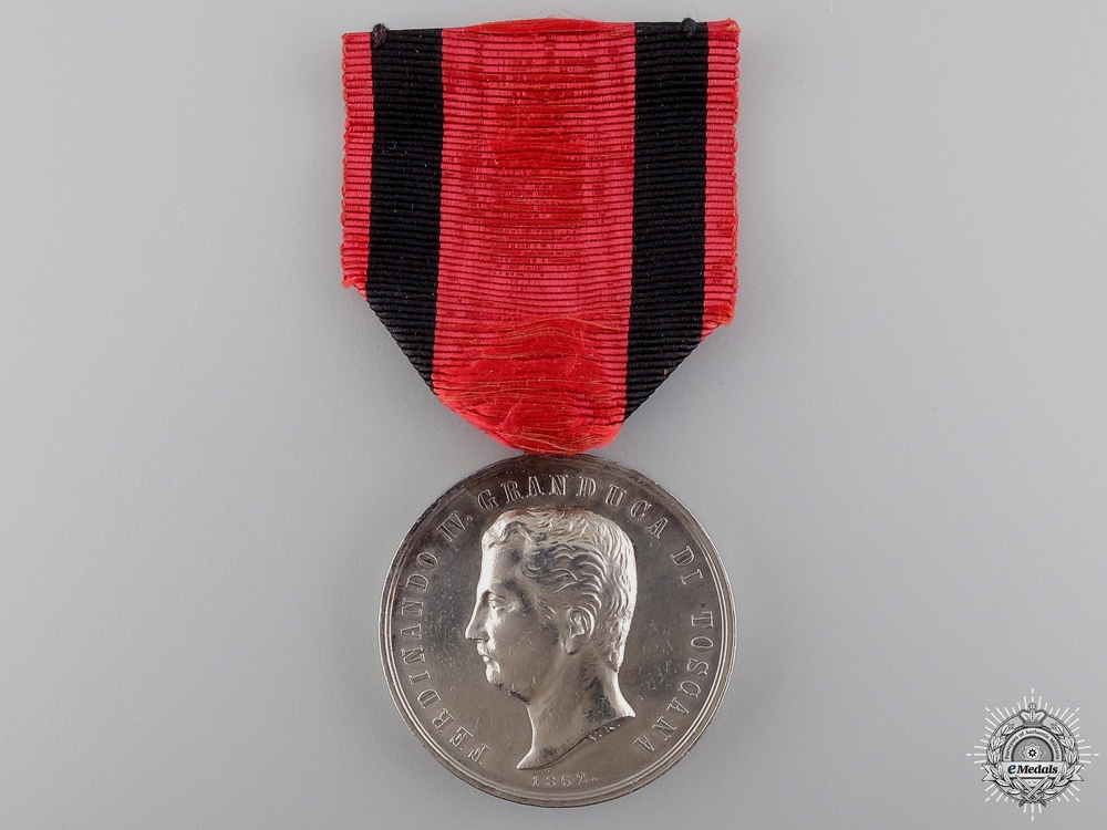 eMedals-A Tuscan Silver Merit Medal; Fourth Class