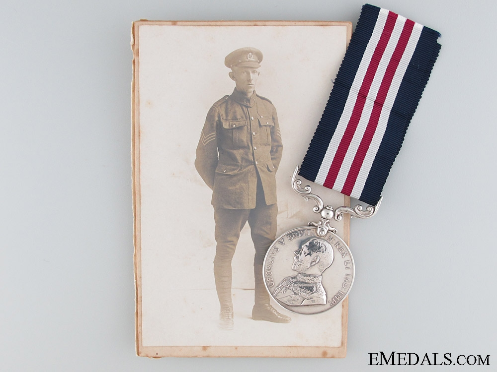 eMedals-A Twice Wounded Vimy Ridge Military Medal